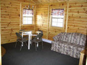 The Dining Area in Cabin #7.